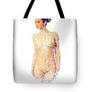 Female Torso #15 Tote Bag