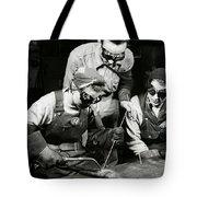 Female Welders - Ww2 Homefront - 1943 Tote Bag
