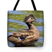 Female Wood Duck Tote Bag