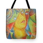 Femme Aux Trois Visages Tote Bag