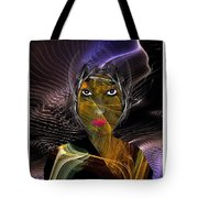 Femme Du Centaure Tote Bag