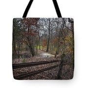 Fence In The Forrest Tote Bag