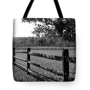 Fence Perspective Tote Bag