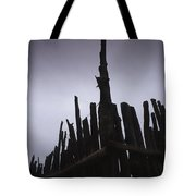 Fence Posts Tote Bag