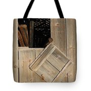 Fence Posts In Barn Tote Bag