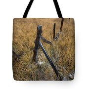 Fence To Nowhere Tote Bag