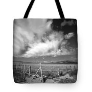 Fence Valley Tote Bag