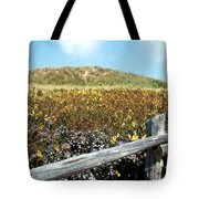 Fence With A View Tote Bag