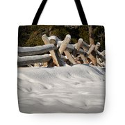 Fenced In White Tote Bag