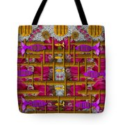 Fences Around Love In Oriental Style Tote Bag