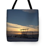 Fencing On Look Out 2 Tote Bag