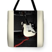 Fender Guitar And Amp In Selective Color Tote Bag