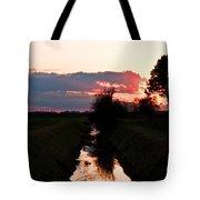 Fenland Sunset Tote Bag
