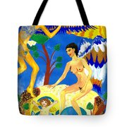 Feral Angels Tote Bag