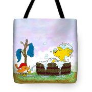 Ferald's Bubble Bath Tote Bag