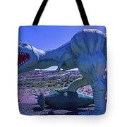 Ferious Dinosaur Trex Tote Bag