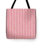 Fermat Spiral Pattern Effect Pattern Red Tote Bag