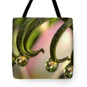 Fern And Plumeria Tote Bag