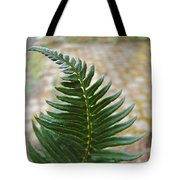 Fern Art Prints Green Garden Fern Branch Botanical Baslee Troutman Tote Bag