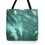 Fern Leaves Abstract 4. Nature In Alien Skin Tote Bag