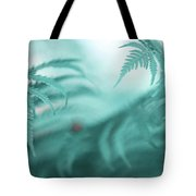 Fern Leaves Abstract. Nature In Alien Skin Tote Bag