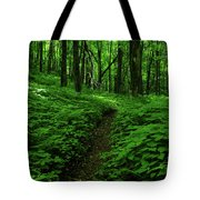 Fern Lined At In Ma Tote Bag