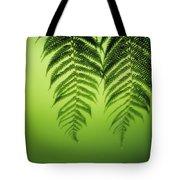 Fern On Green Tote Bag
