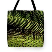 Fern-palm Abtract Tote Bag
