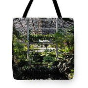 Fern Room Symmetry  Tote Bag