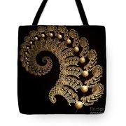 Fern-spiral-fern Tote Bag