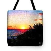 Fernandez Bay Sunset Tote Bag