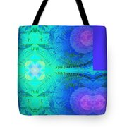 Ferns 2j Hotwax 3 Fractal Plus Tote Bag