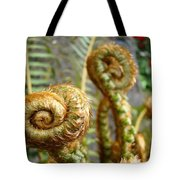 Ferns Art Print Forest Fern Artwork Canvas Baslee Troutman Tote Bag