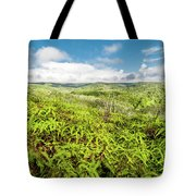 Ferns For Days Tote Bag
