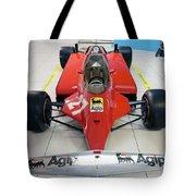 Ferrari 126ck Front Museo Ferrari Tote Bag