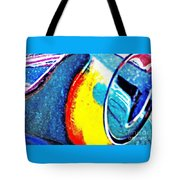 Ferrari 23b Abstract Tote Bag