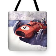 Ferrari 246 Mike Hawthorn Tote Bag