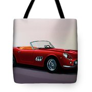 Ferrari 250 Gt California Spyder 1957 Painting Tote Bag