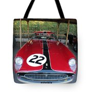 Ferrari 250 Gt Tour De France Tote Bag