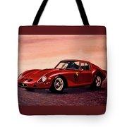 Ferrari 250 Gto 1962 Painting Tote Bag