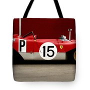 Ferrari 312 Profile 1971 Tote Bag