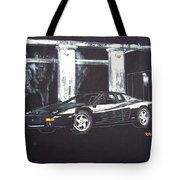 Ferrari 348 Gtr Testarrossa Tote Bag