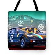 Ferrari 365 Gtc4 Tote Bag
