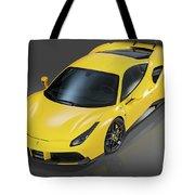 Ferrari 488 Tote Bag