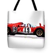 Ferrari 512s Mario Andretti 1970 Tote Bag