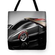 Ferrari Concept Black Tote Bag