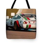 Ferrari Daytona - Italian Flag Livery Tote Bag