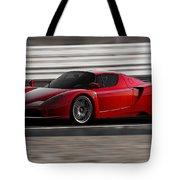 Ferrari Enzo - Rosso Corsa Tote Bag