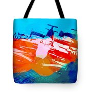 Ferrari F1 Racing Tote Bag by Naxart Studio