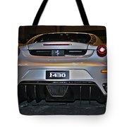 Ferrari F430 No 1 Tote Bag
